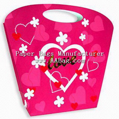 Lifestyle Gift Paper Bag with Custom Artwork