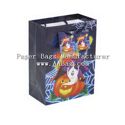 Custom Paper Bags for Halloween event