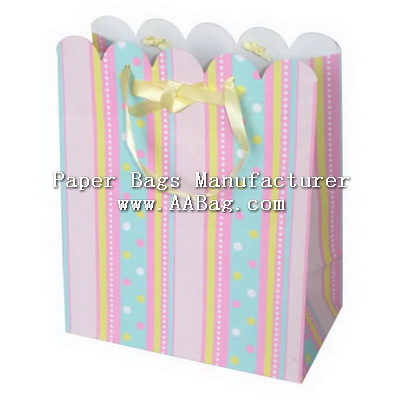 Jewellery Paper Bags with Design for shopping