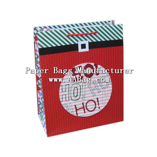 Christmas Gift Bag with custom Theme