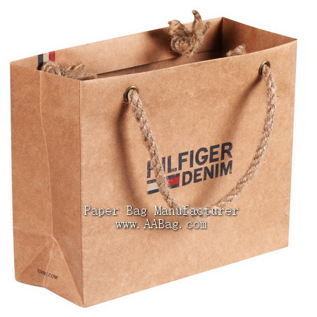 Customize Printing Paper Shopping Bag with Your Brand