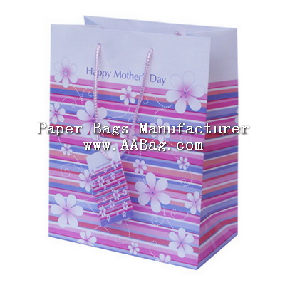 Mother's Day Gift Bag with custom design