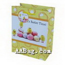 Cute paper gift bags with Easter Eggs Theme for Easter