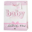 Cute Paper Bag with Baby Artwork
