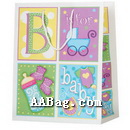 Paper Shopping Bag For Baby Gift