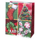 Custom Design Paper Gift Bag for Happy New Year & Christmas