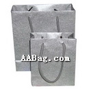 Small Paper Bags for Silver Jewellery Shopping