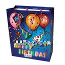 Paper Birthday Bag with Custom artwork