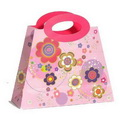 Custom Cute Gift Bag design with Die cut handle