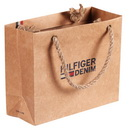 Customize Recycled  Printing Paper Shopping Bag with Your Brand