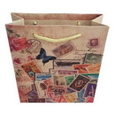 Kraft Paper Gift Bag with Custom Design