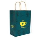 Natural Kraft Take Out Paper Bag for Coffee Cup