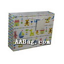 Paper Bag with Children Toy Artwork for kid's Shoe