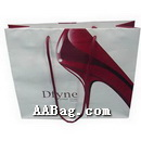 Luxurious Paper Shopping Bag with High-Heel Shooe