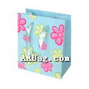 Glossy Lamination Flower Paper Bag