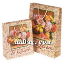 Custom Printed Flower Paper Bags