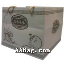 Large Kraft Patisserie Carrier Bags for cake Box,Pizza