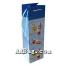 Paper Wine Bag with Custom Design